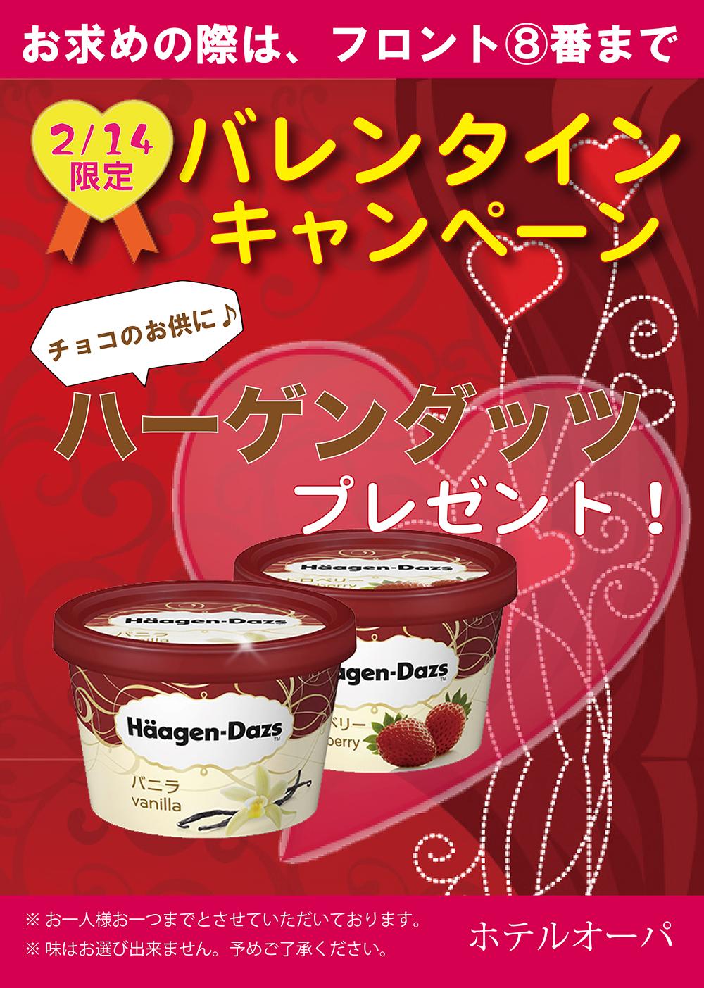 【2/14限定】バレンタインキャンペーン?